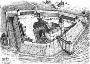 Замок Бальга - руины былого величия Тевтонского ордена